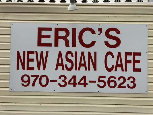 Eric's New Asian Cafe